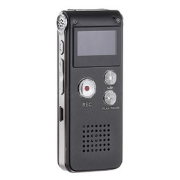 rechargeable mini mp3 Promo Codes - Wholesale- Black 3in1 Pocket Rechargeable Mini 8GB Digital Audio Voice Recorder Dictaphone 3D Stereo MP3 Player USB Flash Pen Drive