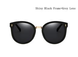 Wholesale Purple Picture Frames - 2017 New lady polarized sunglasses fashion color lens uv sun glasses big picture frame sun glasses