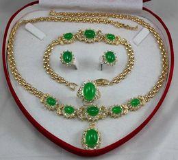 relógio de pulseira chapeada Desconto Adorável atacado choker conjuntos de jóias para as mulheres anime set colar pulseira brincos anel AAA Banhado a ouro Nupcial relógio largo