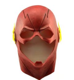 Le casque de flash Allen Cosplay Halloween complet du visage masque de latex masque de capot ? partir de fabricateur