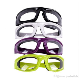 Wholesale onion glasses - Slicing Cutting Chopping Mincing Eye Protect Glasses Kitchen Onion Goggles Tear Free