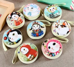 свадебные кошельки Скидка Женщины Kawaii Jetoy Мини сумка мультфильм кошка портмоне дети девушки бумажник наушники коробка сумки свадебный подарок Рождественский подарок