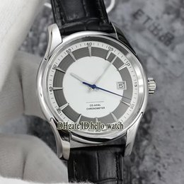 Wholesale Vision Hours - High Quality Brand Luxury Hour Vision Co-Axial 8500 Automatic White Dial 431.33.41.21.02.001 Men's Watch Leather Strap Cheap Watches AAAAA+