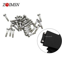 Wholesale Stainless Steel Screw Clasps Wholesale - Wholesale-6pcs 1mm Silver Stainless Steel Polished Watchbands Watch Band Strap Screw Parts Adaptation Men Watches