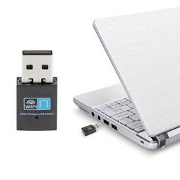 Tarjeta wi online-Mini adaptador 300M USB WiFi Adaptador inalámbrico de wifi Tarjeta de red 802.11 n / g / b wi-fi Adaptador LAN RTL8192 rtl8192cu / eu