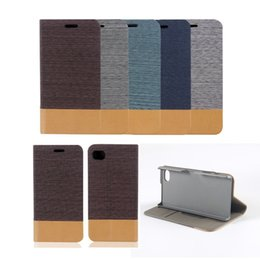Wholesale Mark Pu Leather - For Apple iPhone 6 6s Samsung s6 s7 Cloth Marks Case With Card Holder PU Phone Leather Case