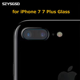 Wholesale Camera Lens Scratch - For Iphone7 lens film Apple 7 Plus tempered lens film For Iphone 6 6s 6 Plus after the camera protective film free shipping