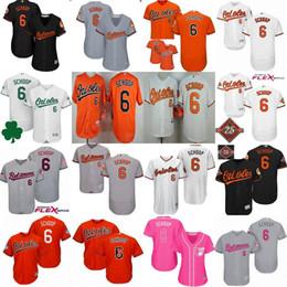 Wholesale Baseball Jersey Baltimore - Baltimore Orioles 2017 All-star Jonathan Schoop Mens Womens Kids Commemorative Patch Stars&stripes Training Cool Flex Baseball Jerseys XS-6X