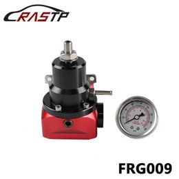 Wholesale Performance Pressure - RASTP-High Performance Fuel Injected Bypass Pressure Regulator 2 to 20 psi AN10 With Gauge RS-FRG009