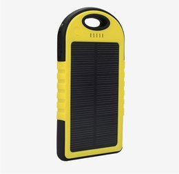 Wholesale External Lg - 20000mA Solar Power Mini Portable External Battery Mobile Power Bank for iphone Samsung LG Xiaomi Android Phones FedEx Free