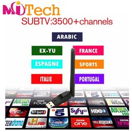 Wholesale Tv Channel Wholesale - Offer IPTV panel,3400+ SUBTV IPTV Account Apk 3 6 12 Months Europe Arabic channels Lations America for Android Enigma2 Mag 250 254
