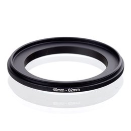 Wholesale Extension Lens - Wholesale- Male to male Lens ring 49mm-62mm 49 to 62mm Macro Reverse Ring for 49 to 62mm lens Mount For extension tubes adapters