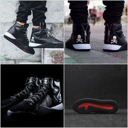 Wholesale Cheap Name Shoes - Cheap Name Brand Sneakers Famous Mastermind Japan Tubular Instinct Black MMJ Mens Sports Running Boost In Shoes hip hop sneaker Size 40-44