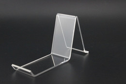 Wholesale Wholesale Shoe Display Stand - Acrylic Shoe Support Stand Shoe Rack Shoes holder Display shoe display stand shelf Advertising Equipment Display Racks