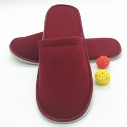 Pantoufles jetables d'hôtel et couchette plane en coton épais et confortable en coton haut de gamme et sans lèvre dédiée au voyage 10pairs ? partir de fabricateur
