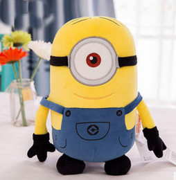 Wholesale Despicable Birthday - Small yellow dolls plush toys gods daddy dad children dolls pillow cloth doll birthday gift girls