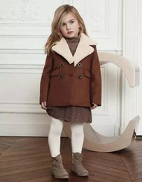 Wholesale Toddler Girl Spring Dress Coat - Baby Girl Winter Fashion Clothes Kids Dress Spring Autumn Jackets Infant Toddler Boys Girls Clothes Princess Long Coat Clothing