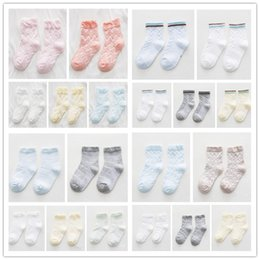 Wholesale New Baby Socks - Baby Socks Cotton New Spring and Summer Breathable Boy Girls Socks New Cartoon Embroidery Sweet Thin Section Soft Slip Resistant