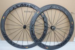 Wholesale Carbon Rims Sale - 700c carbon wheels full carbon wheels cosmic front 50mm rear 60mm bicycle wheels clincher rim type hot sale