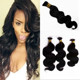 Bulk Human Braiding Hair 4 Bundles Peruvian Natural Color Body Wave Bulk Hair No Attachment Can be Dyed FDSHINE Coupon