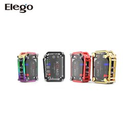 Wholesale Gt Box - New !! Genuine XOMO GT Laser 150W Box Mod-3500mah lithium battery with laser light from Elego 2017