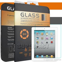 apple ipad screen protector Promo Codes - Tablet Screen Protector For New iPad Pro 2018 12.9 2 3 4 Air2 MINI4 iPad Pro 9.7inch for Samsung Tablet with Retail Package