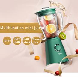 Canada Arrow Dewer Home Multifonctionnel Électrique Mini Juicer Juice Fruit Remuant Cuiseur Machine 250W Offre