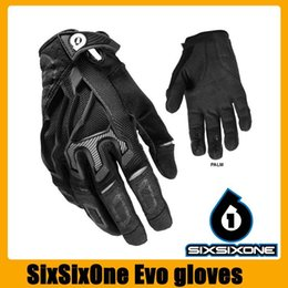 Wholesale Genuine Leather Gloves Wholesale - Wholesale- Genuine Quality Motorcycle Glove Bicycle Biker Racing Sports GLOVE Antiskid GEL Full Finger Silicone Gloves off road motocrosss
