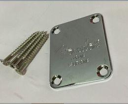 Wholesale guitars necks - Electric Guitar Neck Plate Neck Plate Fix Guitar Neck Joint Board - Including Screws