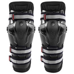 Wholesale Scoyco Elbow - Wholesale- Scoyco K19 Motorcycle Motocross PP Shell Knee Pads Shin Protection Guards Off-road Racing Safety Protective Gear - 2017 New