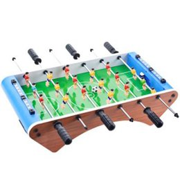 Wholesale Green Board Games - New large six - foot table football table children 's toys desktop soccer sports gifts interactive intelligence board reaction games