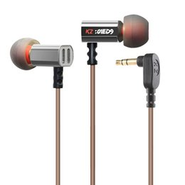 Wholesale Hd Dj - KZ ED9 Hifi Dj Stereo IEM Headphones with Heavy Bass and Noise Isolating Standard Edition Headsets High Sensitivity HD Earphones