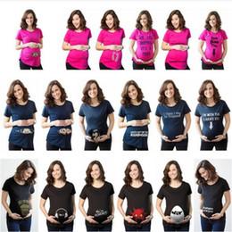 Wholesale Pregnant Novelty - Pregnancy clothes New Funny Maternity Shirt for pregnant women plus size XXXL t-shirt Summer Premaman Shirts YYA159