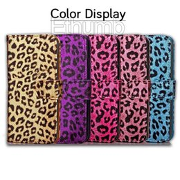 Wholesale Plastic Magnetic Photo Frames - Case for iphone 7 Leather wallet Leopard magnetic phone case flip With card slot Photo Frame kickstand case for iphone 6s plus 7plus