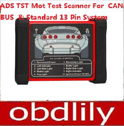 Wholesale Ads Bmw - Newest ADS TST Mot Testing Scanner For CAN-BUS And Standard 13 Pin System DHL Free Shipping