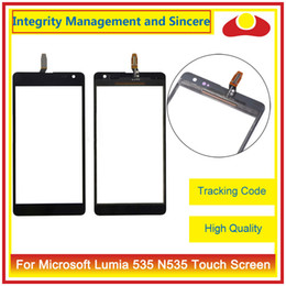 """Wholesale microsoft screens - High Quality 5.0"""" For Nokia Microsoft Lumia 535 N535 CT2S1973 CT2C1607 Touch Screen Digitizer Outer Glass Lens Panel Black"""