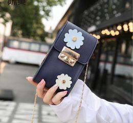 Wholesale Storage Bamboo Fiber - Hot summer new flowers mini package fashion storage shoulder bag Messenger bag female17062101