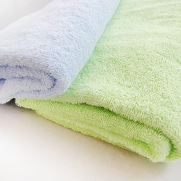 Wholesale Wholesale Used Bath Towels - Cotton Large Hand Towels washcloth (green and blue, 70*140 CM) - Multipurpose Use for bath towel, Hand, Face, Gym and Spa