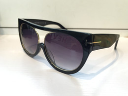 Wholesale Full Shapes - 0360 Fashion Luxury Sunglasses Women Brand Designer Counter Round Shape Retro Vintage UV Protection Top Quality Sunglasses Come With Case