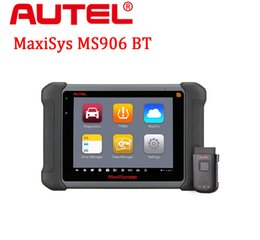Wholesale Engine Os - 2017 AUTEL Car scanner MaxiSys MS906BT Android 4.4.2 OS Free Online Update Full System ECU Coding Advanced Diagnostic Tool