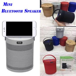 Wholesale Wholesale Audio Horns - 106 Wireless Bluetooth Speaker Big Horn Subwoofer Speaker Used Mobile Phone Bracket Card Outdoor Bluetooth Speakers For iphone samsung