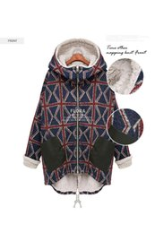 Wholesale Thick Warm Poncho Coats - Wholesale- Warm Thick Cotton Jackets Womens Winter Coat Women Manteau Femme Chaquetas Mujer Abrigos Poncho Plus Size Xxxl Xxxxl 4xl 5xl