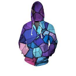 Wholesale Mens Summer Hoodie - Wholesale- 2017 Spring Summer Men Women's Creative 3D Hoodies Funny Print Tops Clothing Personalized Mens Sweatshirts Cool Hoddies