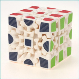 Wholesale Sticker Big Kids - Z-cube generation, two generation gear, three stage Rubik's cube, special-shaped Rubik's cube, puzzle toys, carbon fiber film stickers