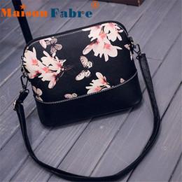 Wholesale Wholesale Messenger Bag Purses - Wholesale- Hot sale Fashion Women Printing Shoulder Bag Leather Purse Satchel Messenger Bag free shipping wholesale DE10