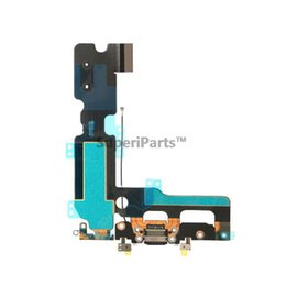 Wholesale Microphone Antenna - USB Charging Port Dock Connector Flex Cable For Iphone 7Plus Charge Cable With Microphone Antenna Assembly