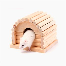 Wholesale Cute Bedding - Cute Small Animal pet Rabbit Hamster house bed rat squirrel Guinea Pig winter warm hanging House cage Nest Hamster accessory 0704115
