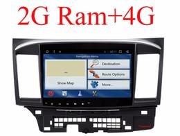 Wholesale car audio navigation tv - Octa Core Android 8.1 Car dvd gps player for MITSUBISHI LANCER 2008-2016 9 10 car radio video Stereo Audio navigation