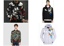 Wholesale Bow Lace Stamp - 2016 autumn and winter new men 's fashion print flowers and birds hot stamping small monster coat collar cardigan jacket