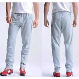Wholesale Mens Bootcut - Wholesale- Uwback 2017 New Spring Sweatpants Men M-4XL Mens Joggers Pants Cotton Breathable Pantalon Homme Sweat Pants For Men CAA329